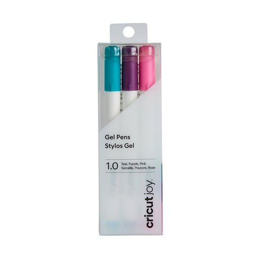 Cricut Joy Gel Point Pens 1.0 (3) Teal, Purple, Pink