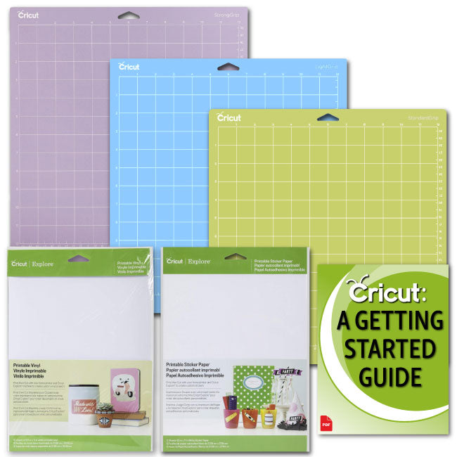 Cricut Printable Vinyl and Sticker Paper Bundle for DIY Decals, Labels and Stickers - Craft-e-Corner