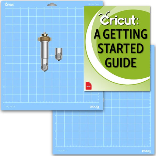 Cricut Maker Scoring Wheel Blade & Light Grip Mat Bundle - craft-e-corner.com