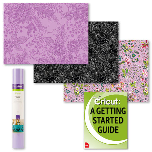 Cricut Everyday StrongBond HTV Bundle, Anna Griffin Charlotte and Lilac