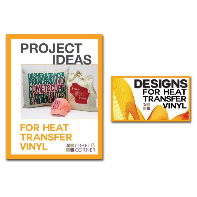 12 Exclusive Heat Transfer Vinyl Designs