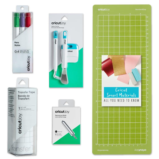 Cricut Joy Machine Essential Tools, Pen Set and Blade Beginner Bundle