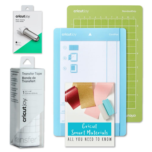 Cricut Joy Machine - DIY Cards and Vinyl Decal - Grip Mats and Blade Bundle