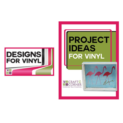 Adhesive Backed Vinyl (8 Pack) plus 2 sheets Transfer Paper - craft-e-corner.com