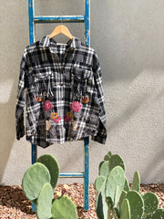 Space Cowgirl Plaid Shirt {or jacket}