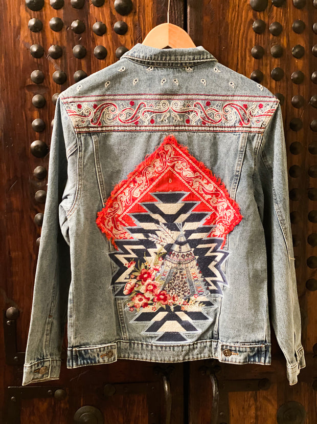 Butte Bandana Denim Jacket