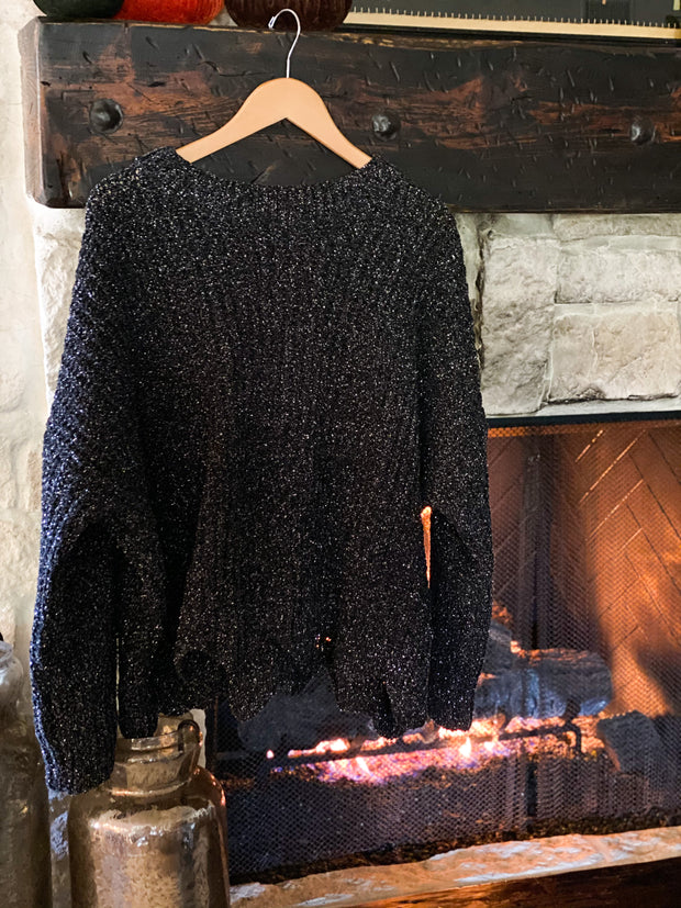 Midnight Sky Shimmer Sweater