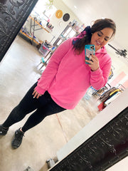 Hot Pink Pullover