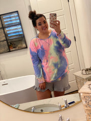 Tie Dye Pull Over