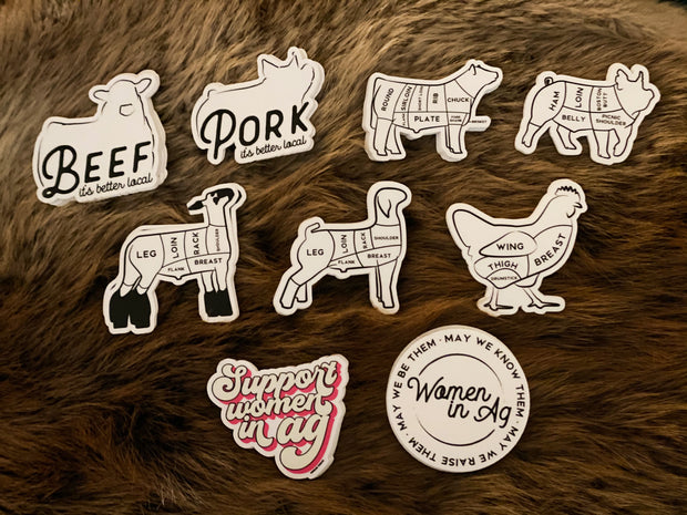 Agriculture Proud Stickers