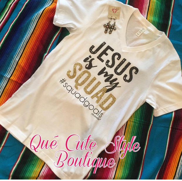 Jesus is my Squad Goals Tee