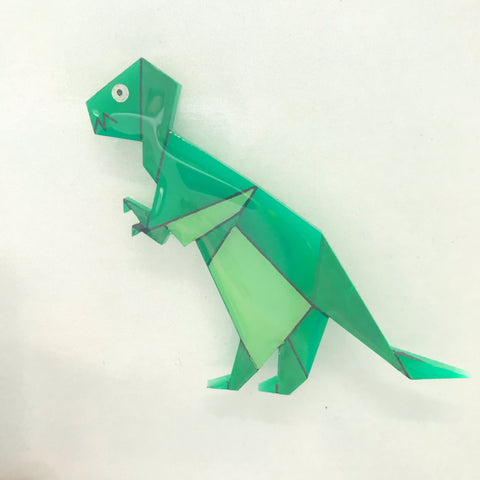 How to make a T. rex origami dinosaur | Natural History Museum | 480x480