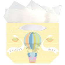 Baby's Balloon Trinket Gift Bag - Grace of Design