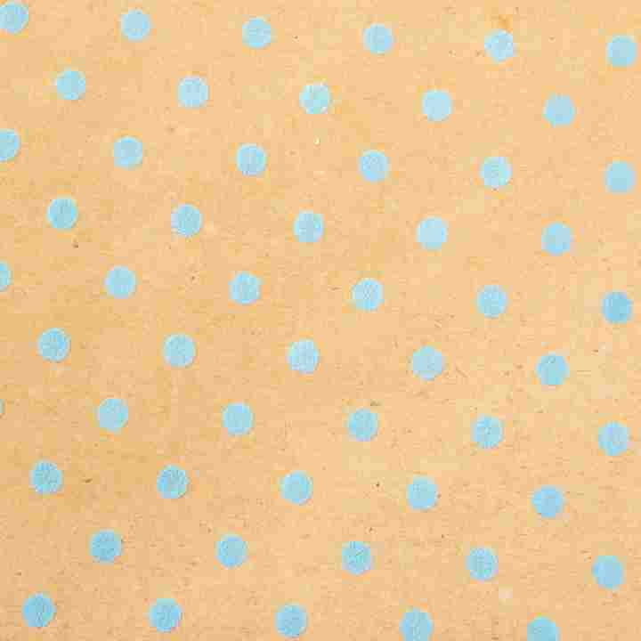 Blue Dimensional Dots Wrapping Paper - Grace of Design