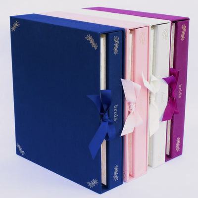 Binding Love Wedding Planner by Hadron Epoch 2 binder set for bridal party and vendors