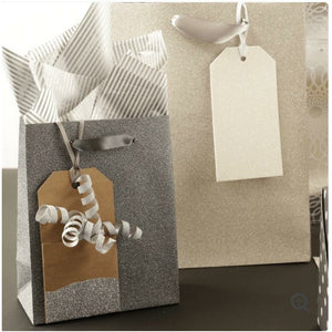 Glitter Dipped Gift Tag Pockets - Grace of Design