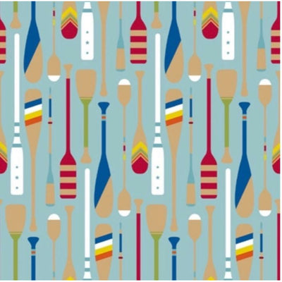 Paddles & Oars Wrapping Paper - Grace of Design