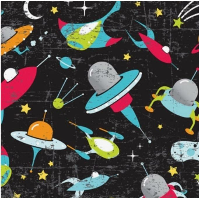 Space Orbit Wrapping Paper - Grace of Design