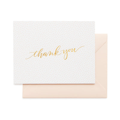Playful Thank you with Dots Set
