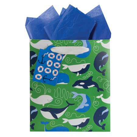 True Blue Small Gift Bag - Grace of Design