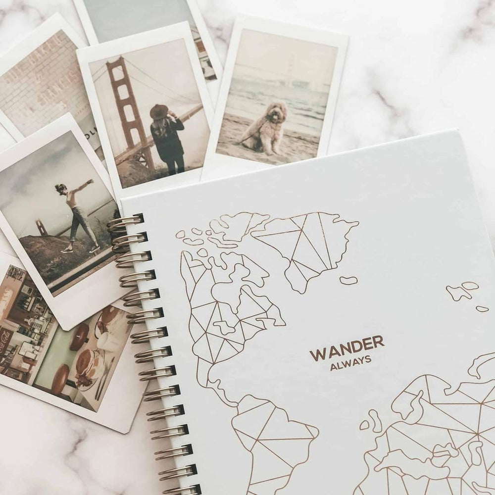 The Wander Travel Planner Book