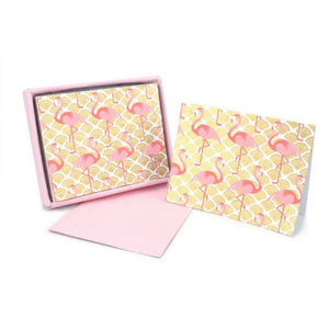 Flamingo Teaberry Note Set - Grace of Design