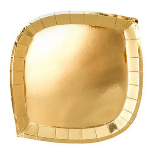Load image into Gallery viewer, gold foil paper plate