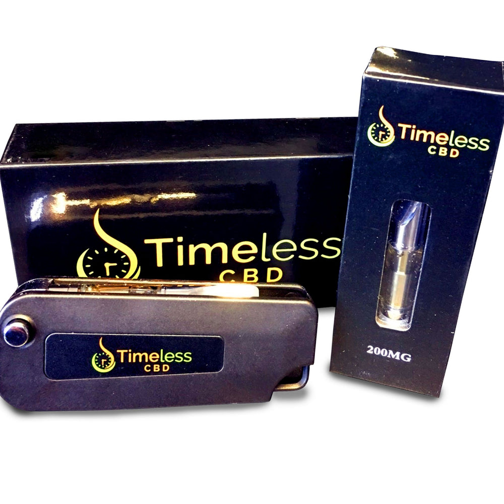 400MG CBD Cartridge & Flip Vape Pen Kit