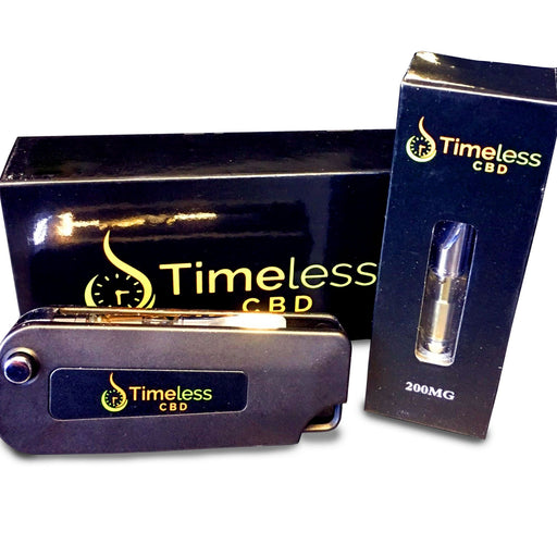 200MG CBD Cartridge & Flip Vape Pen Kit