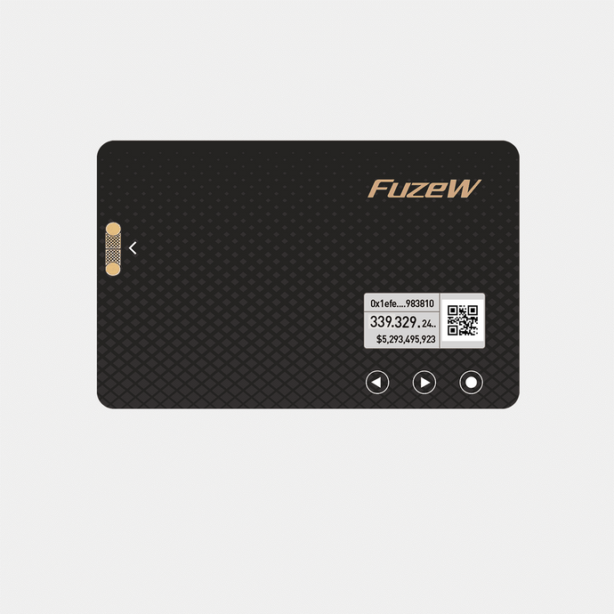 FuzeW Hardware Wallet