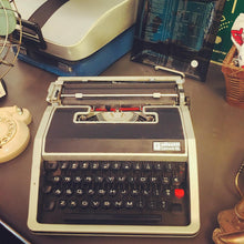 Load image into Gallery viewer, Vintage Olivetti Typewriter