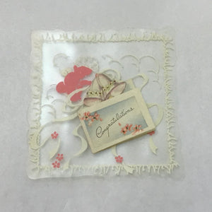 Vintage Wedding, Baby Shower and Congratulations Cards