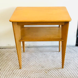 1950s Blondewood Side Table
