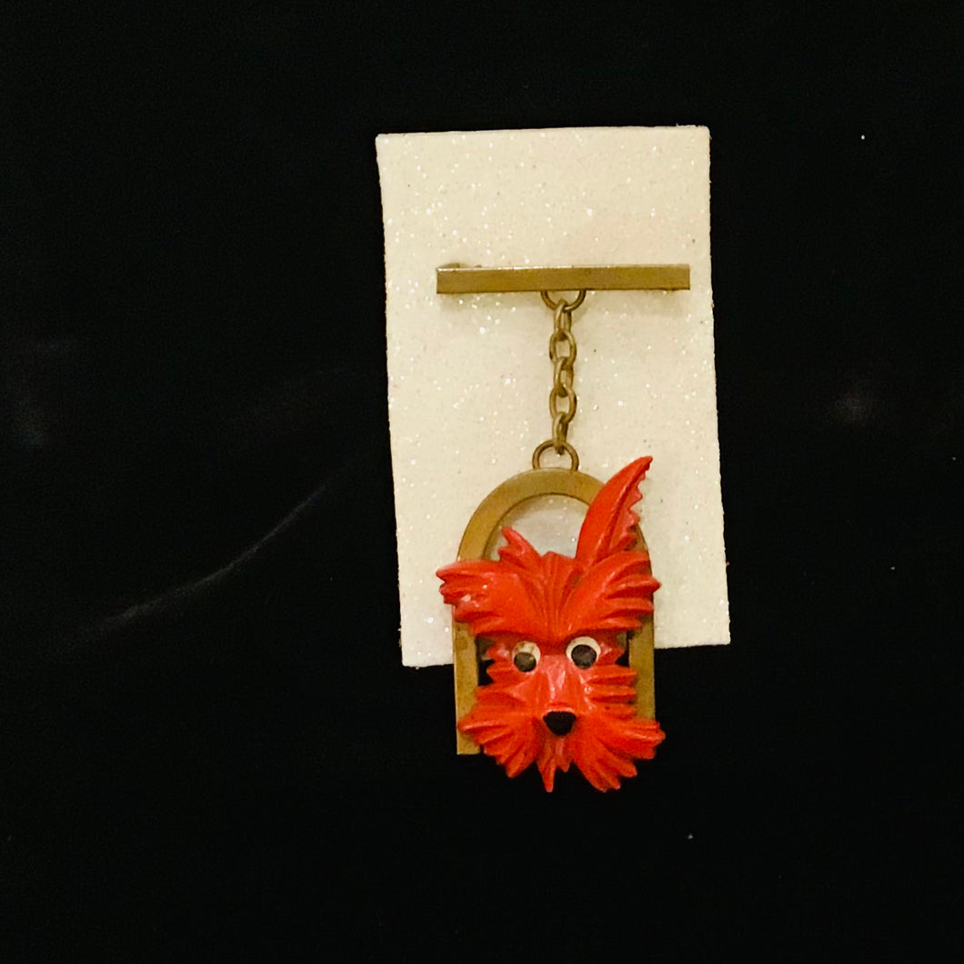 Vintage Scottie Dog Dangle Broock