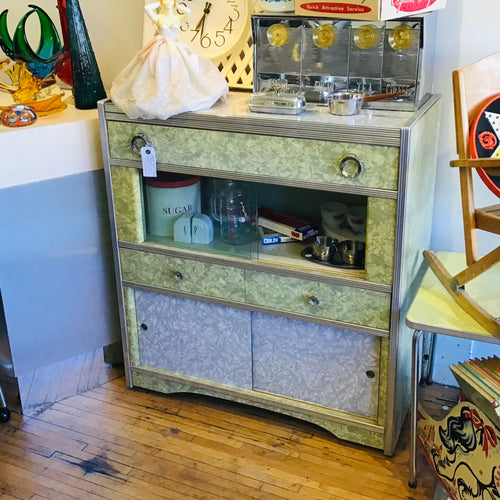 Vintage Kitchen Hutch