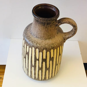 West German Pottery Jug Vase