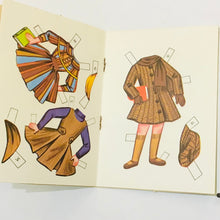 Load image into Gallery viewer, Vintage Lollipop Doll Paper Dolls Book