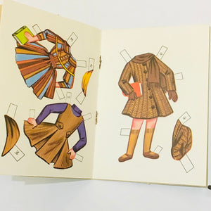 Vintage Lollipop Doll Paper Dolls Book