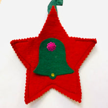 Load image into Gallery viewer, Vintage felt Christmas Ornaments