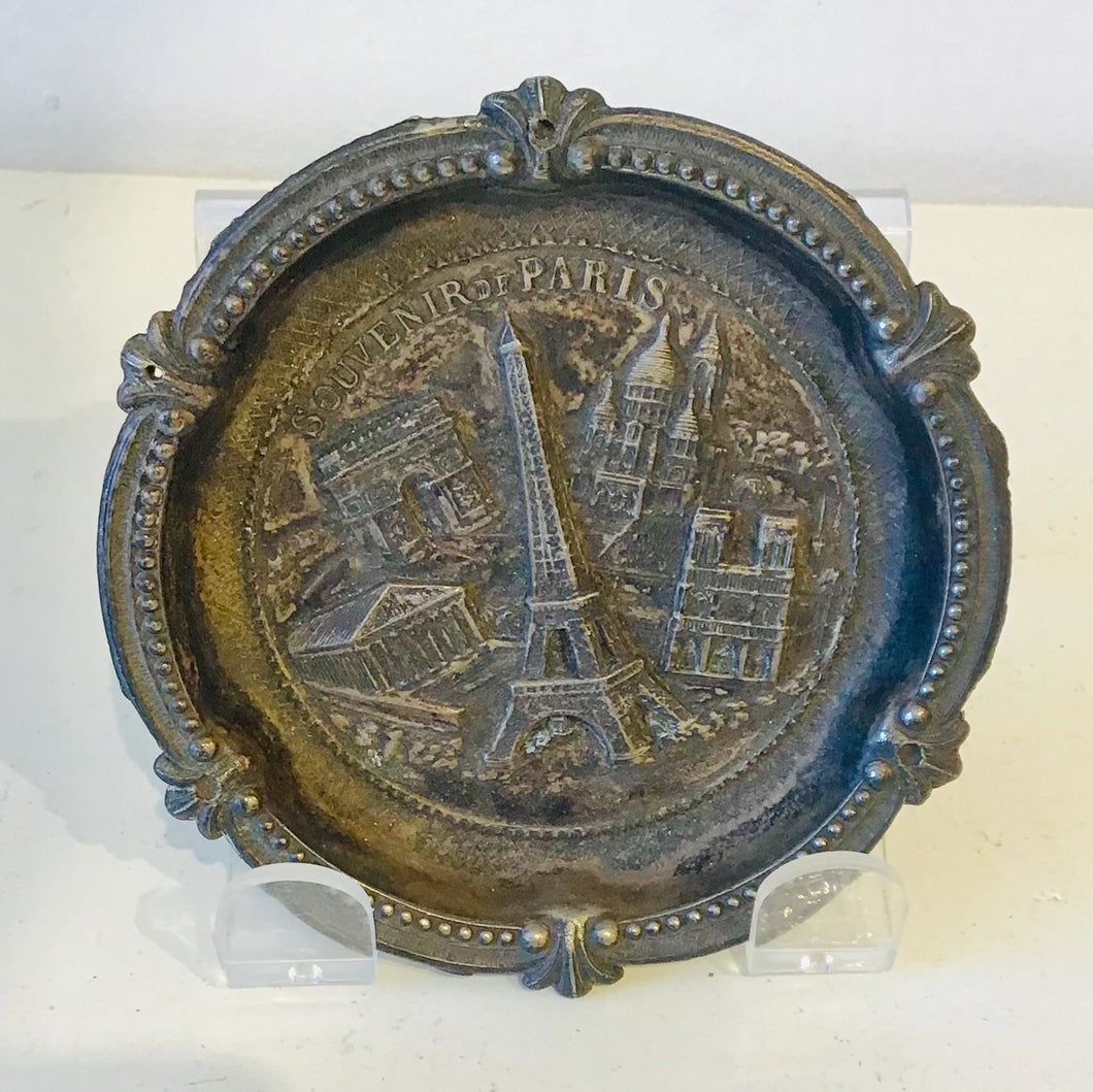 Souvenir Paris, France Coaster Dish