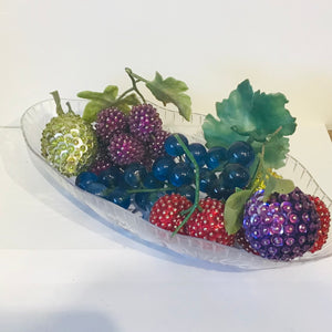 Vintage Beaded Fruit