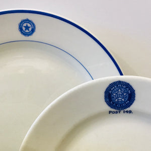 American Legion Dishes
