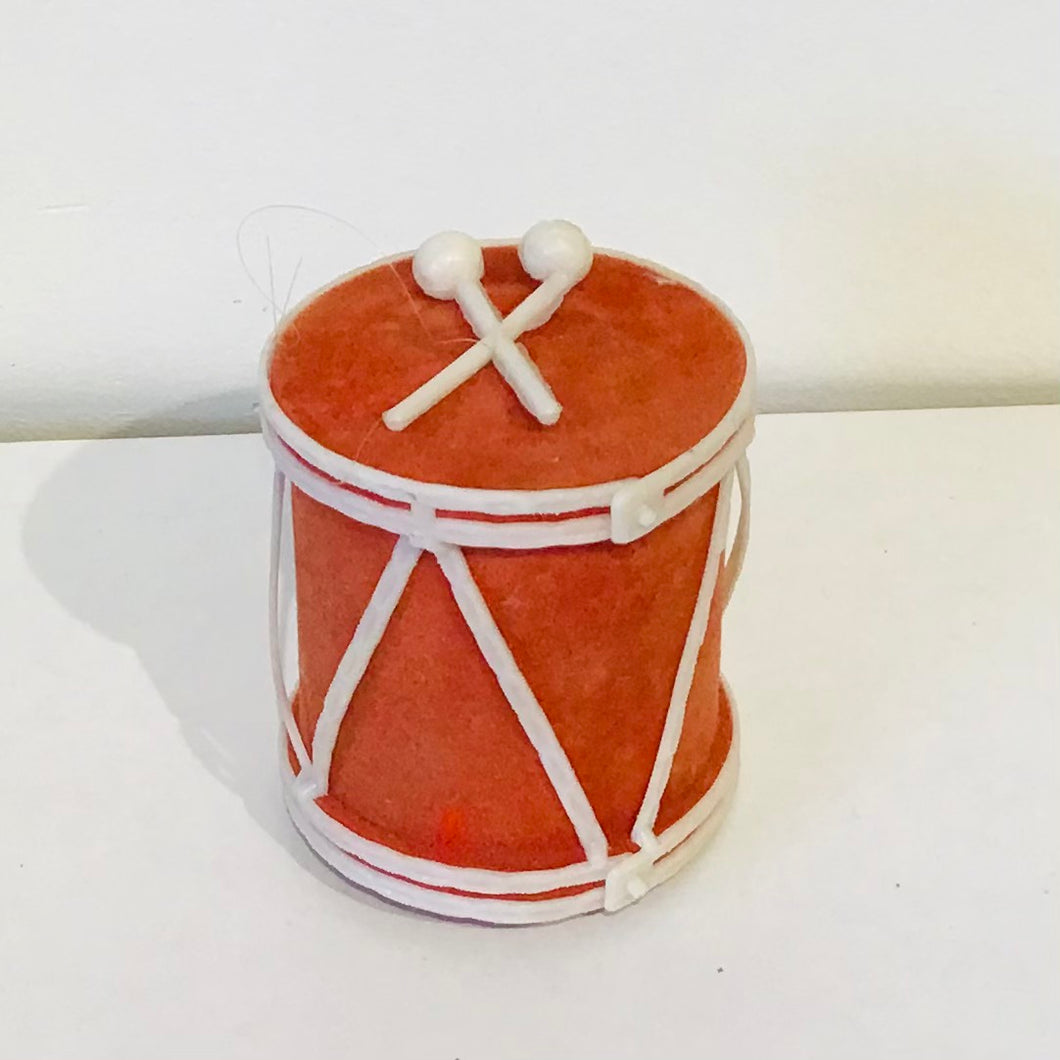 Vintage Drum Ornament