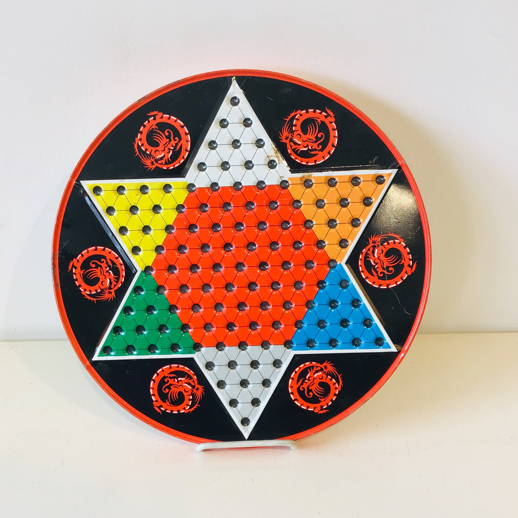 1970s Chinese Checkers Board