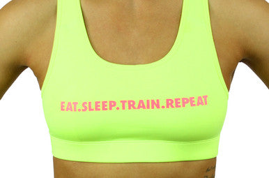 DBA Sports Eat Sleep Train Repeat Top