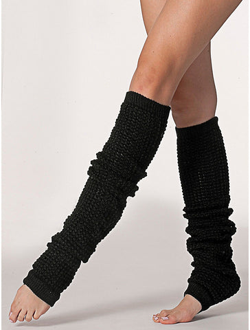 American Apparel Leg Warmers - Black