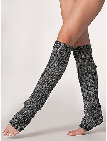 American Apparel Leg Warmers - Black/White