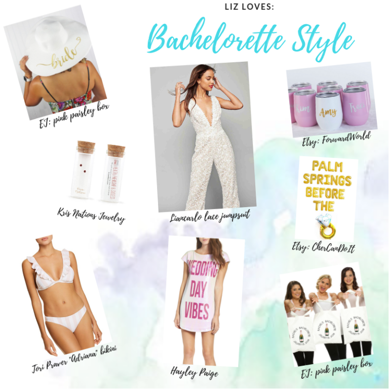 Liz's picks for the perfect bachelorette party