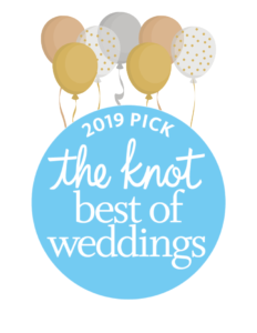 The Knot's Best of Weddings award
