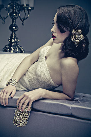 Headpiece and bracelet